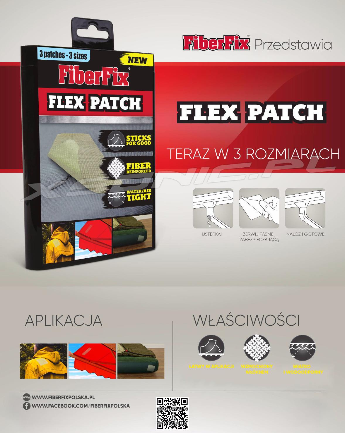 FLEX PATCH - WODOODPORNE I ELASTYCZNE ŁATY NAPRAWCZE