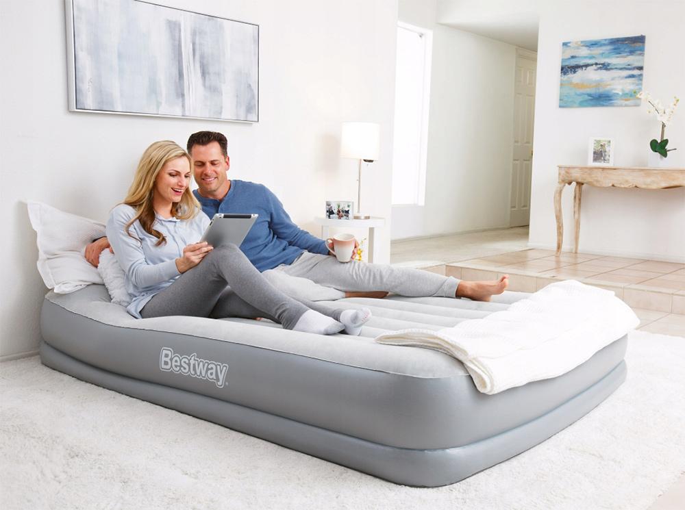 Dmuchane materace sofy fotele łóżko do spania rozkładane