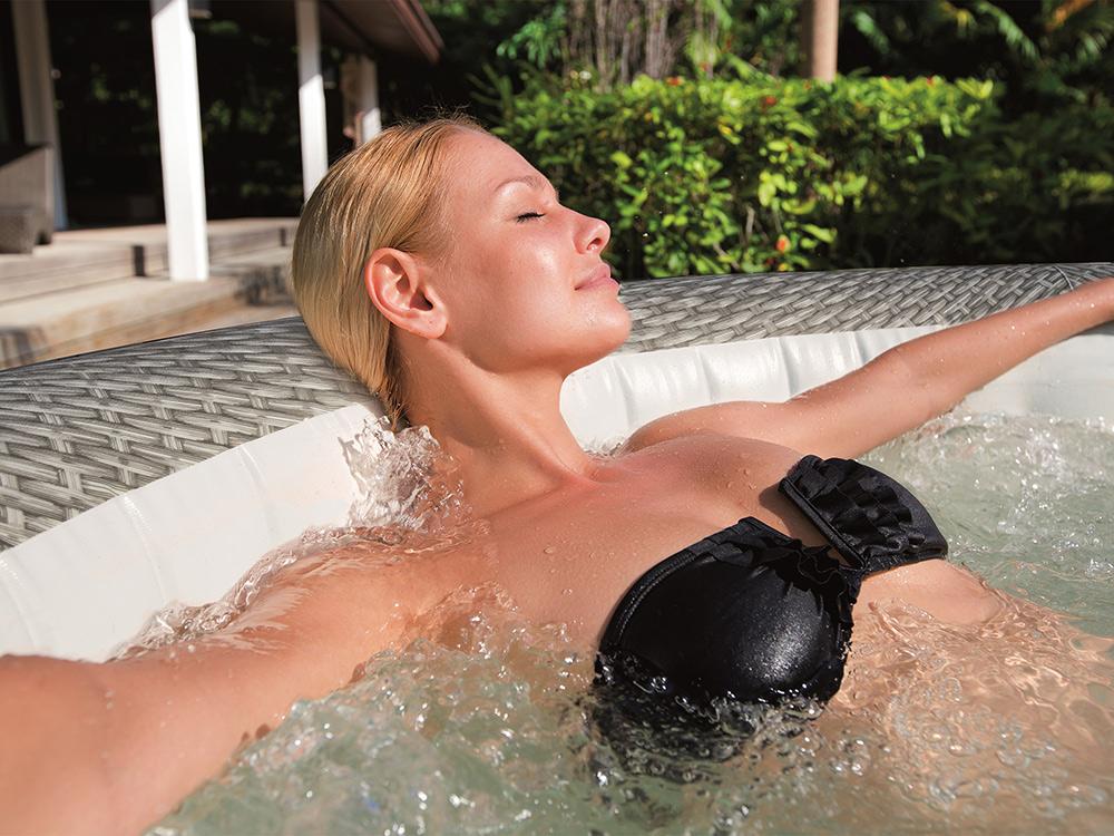 Dmuchane Spa z masażem i podgrzewaczem wody Honolulu 196 x 71cm Bestway 54174