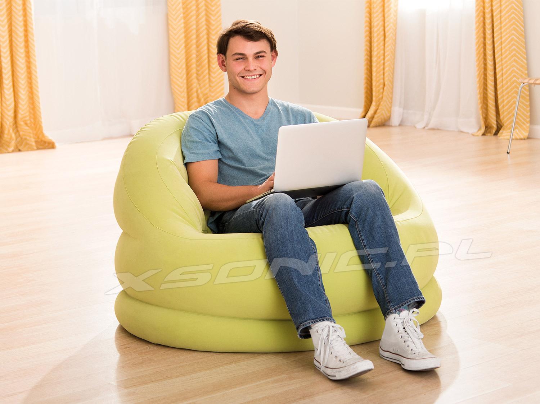 Fotel dmuchany Bella 112 x 104 x 79 cm INTEX 68577 sofa pufa