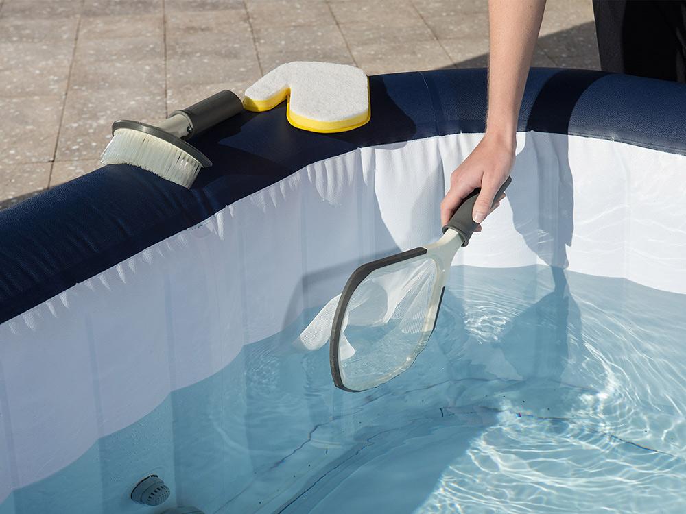 Zestaw czyszczący do basenów i Lay-Z SPA szczotka gąbka Bestway 58421