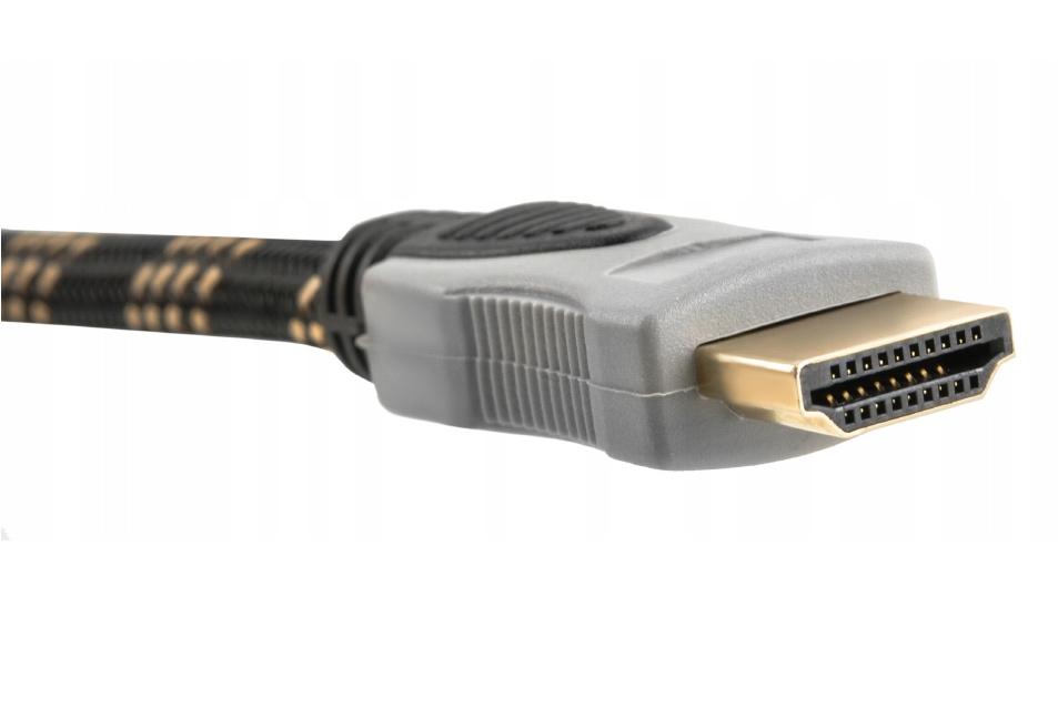 Kabel Przewód HDMI-HDMI 2.0 4K Miedź HD 48bit