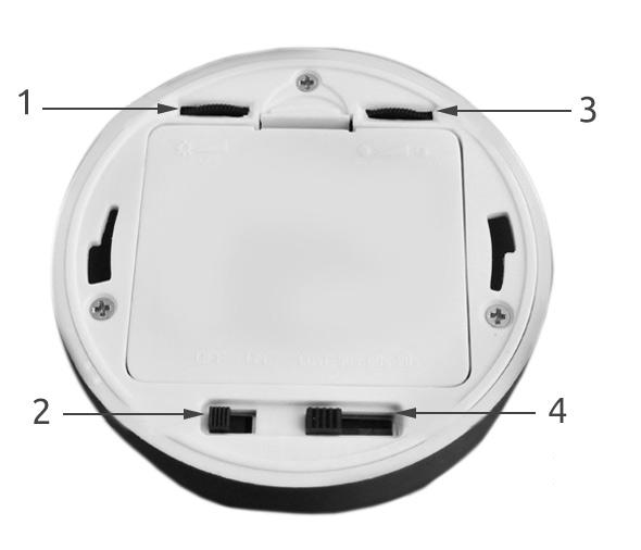 Lampka LAMPA 6 led z CZUJNIKIEM ruchu baterie AAA