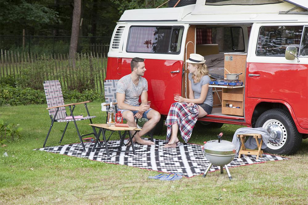 Mocne krzesło turystyczne składane fotel turystyczny BO-CAMP Preston