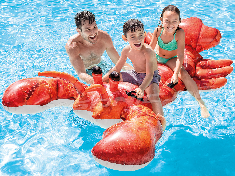 Zabawka do pływania Homar 213 x 137 cm INTEX 57533