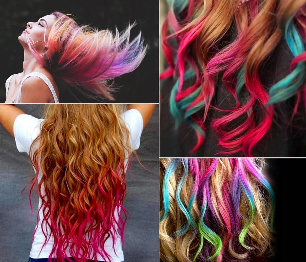 kreda do malowania kolorwania włosów robienia pasemek