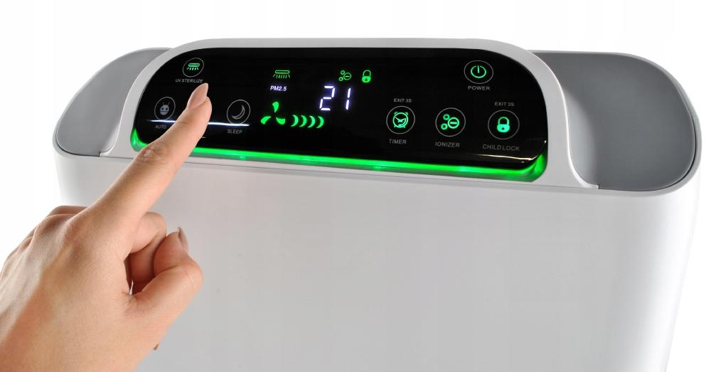 Oczyszczacz powietrza do domu z funkcją nawilżacza