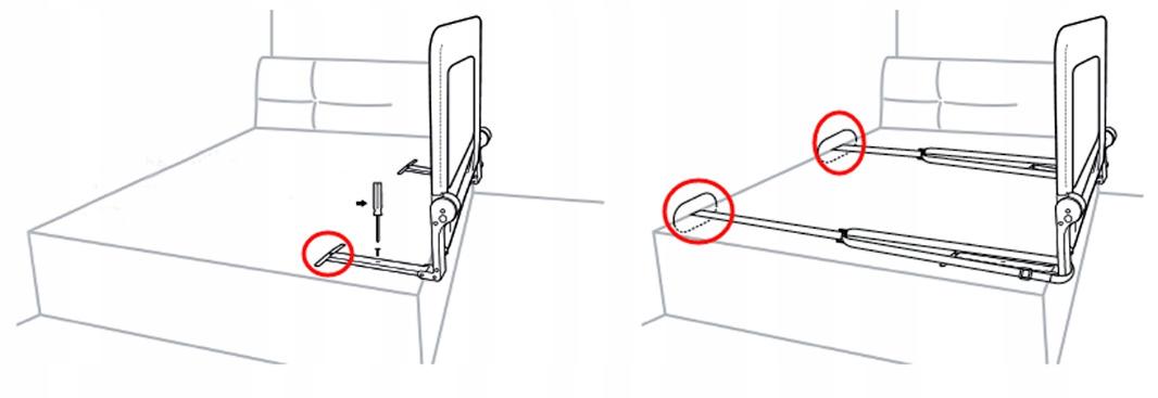 Jak zamontować osłonę do łóżka : są dwa sposoby