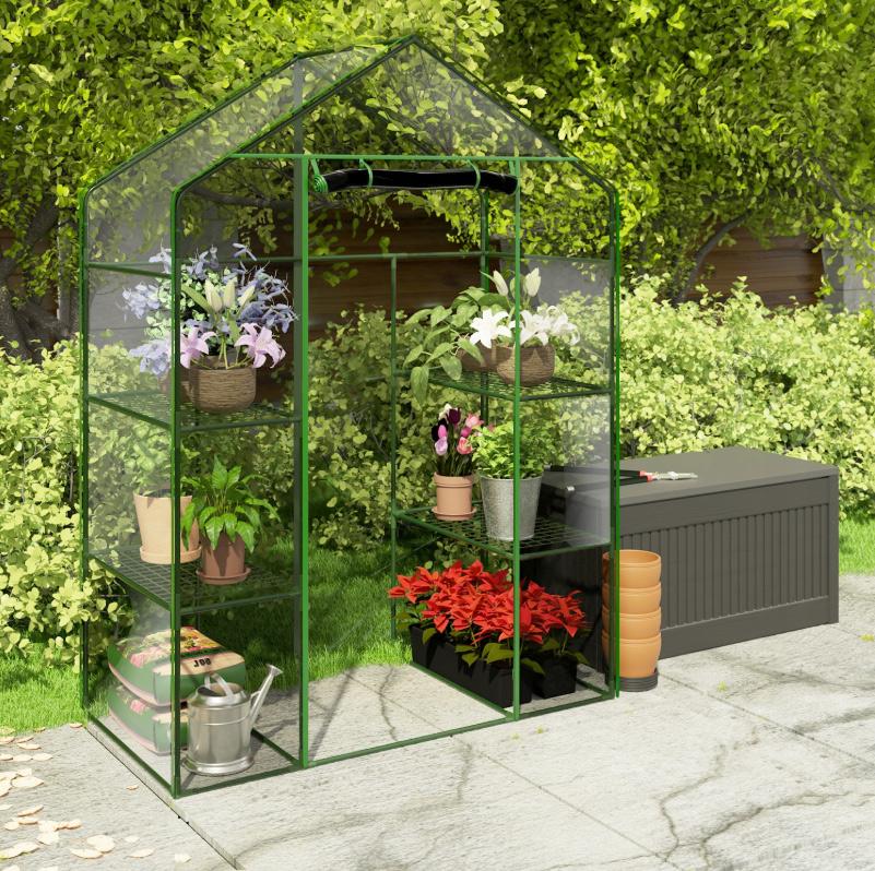 Wielosezonowa szklarnia ogrodowa 140 x 70 x 195 cm