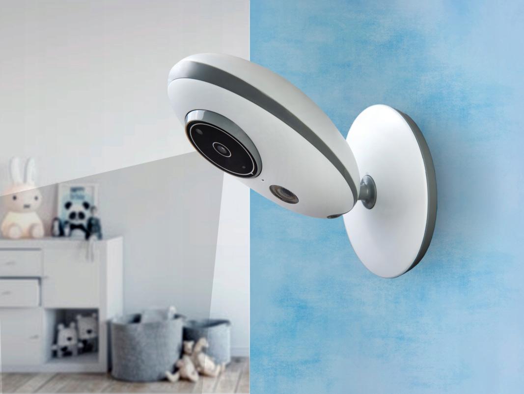 Niania elektroniczna z kamerą i monitorem IlumenCam-S2