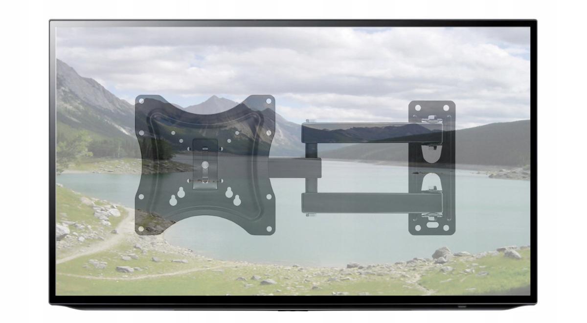 Uchwyt TV Wieszak LCD Obrotowy do Telewizora 14-42