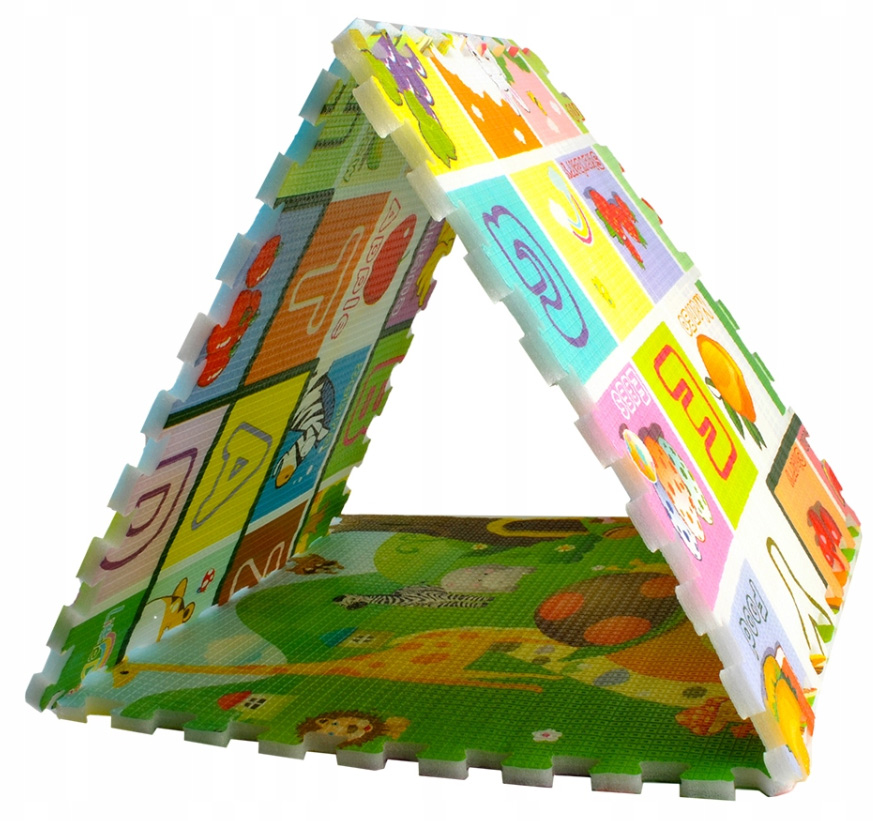 Duża Gruba Mata Piankowa Puzzle Piankowe 180x120