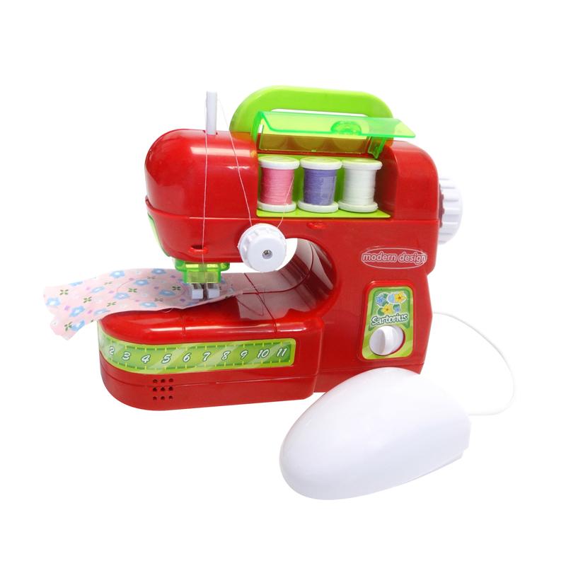 Maszyna do szycie przeznaczona dla dzieci która szyje jak prawdziwa
