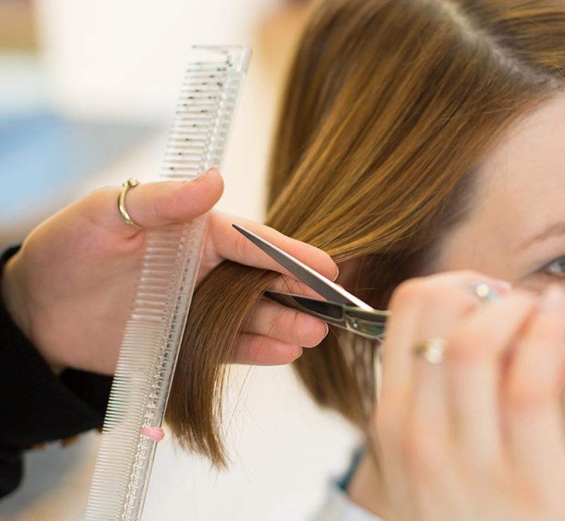 Profesjonalne nożyczki proste ostre fryzjerskie