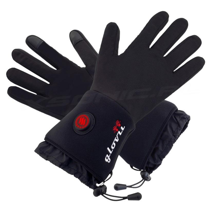 Rękawice ogrzewane GLOVII model GLB czarne damskie i męskie UNISEKS