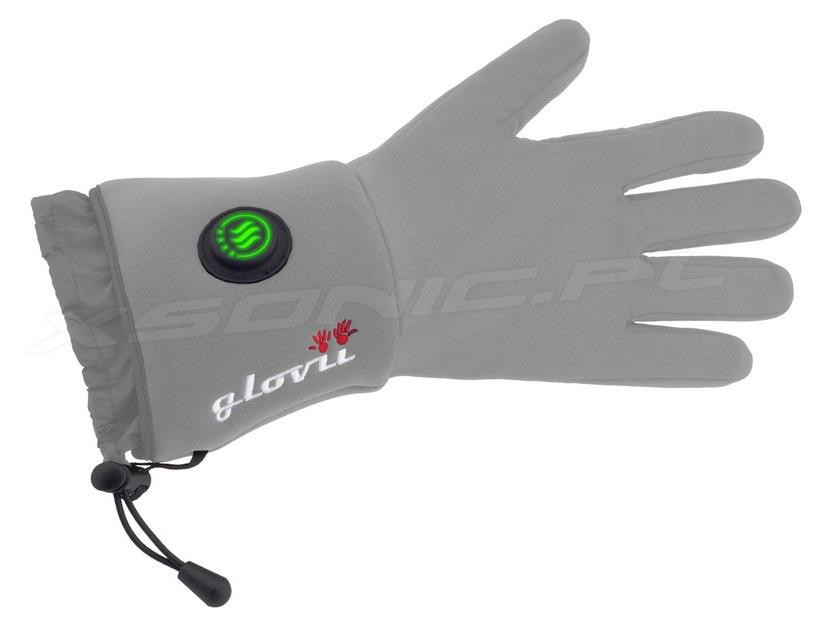 Rękawice ogrzewane GLOVII model GLG szare damskie i męskie UNISEKS