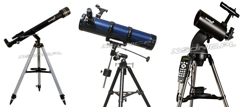 Teleskopy dla profesjonalistów i pasjonatów