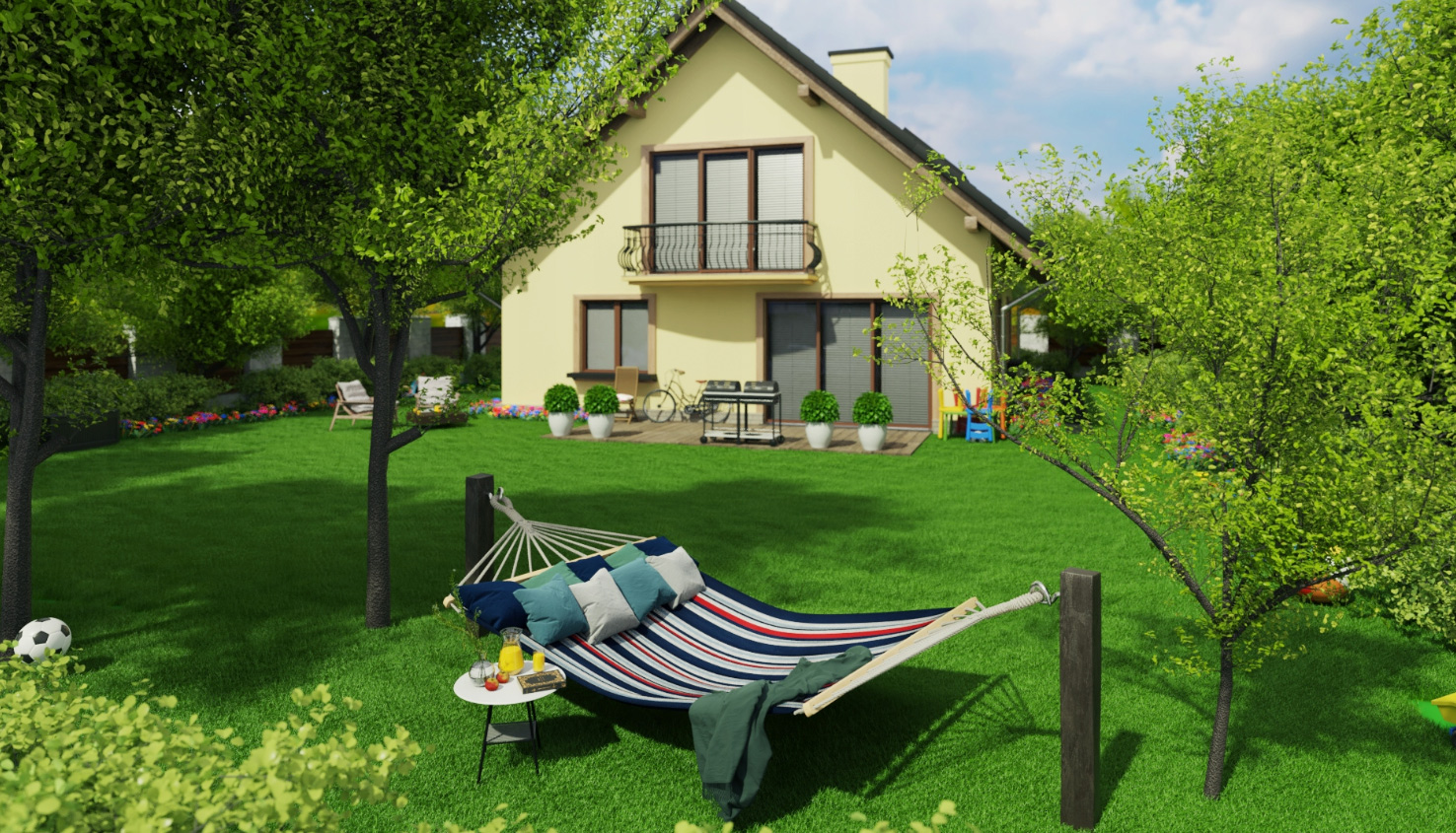 Hamak ogrodowy bujak 220x160 cm XXL dwuosobowy grube liny bawełna